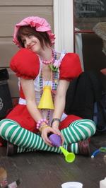 Crusty Mcknuckle #27 Big Easy Rollergirls Mardi Gras 2008